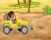 Play Diego's African Off-road Rescue