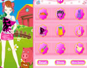 Play Farm Girl Dress Up