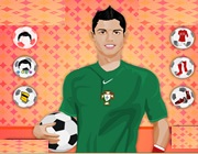 Play Christiano Ronaldo Dress Up