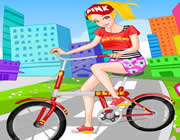 Play Cheerful Biker