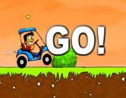 Play Crazy Golfcart