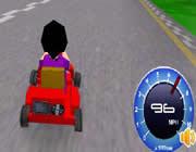 Play Super Kart 3d