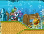 Play Sponge Bob Motocross