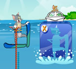 Play Tom And Jerry Super Ski Stunt
