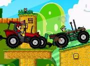 Play Mario Tractor Racing