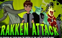 Play Ben 10 Krakken Attack