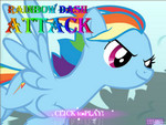 Pony Rainbow Dash Attack