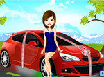 Play Bridal Car Dress Up
