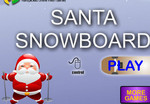 Play Santa Snowboard