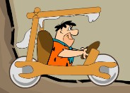 The Flintstones Race