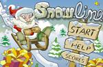 Play Santa Snow Limo