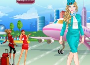 Play Air Hostess Dress Up