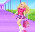 Play Barbie High School Girl