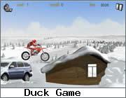 Play Snow Motobike