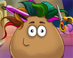 Play Pou Real Haircuts