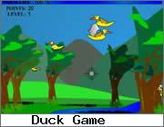 Play Ducks in the Jungle