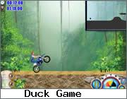 Play Motobike near Waterfall