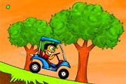 Play Crazy Golf Cart