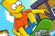 Play Bart Simpson Boarding