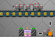 Play Robot Cake Defender