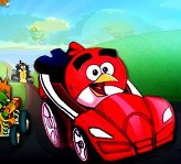 Play Angry Birds Super Race