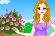 Play Flower Girl Dress Up