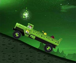 Play Ben 10 Aliens Truck