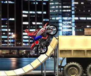 Play Spiderman Biker