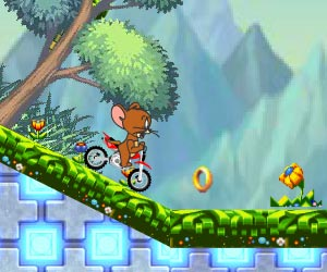 Play Jerry Motorbike Race