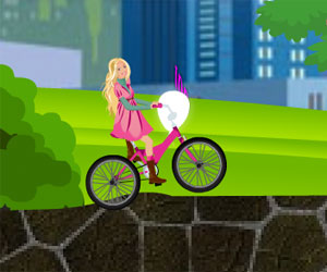 Play Barbie Bike