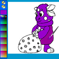 Play Paint A Luntik