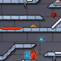 Play Fire Boy and Water Girl 3 Ice Temple