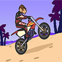 Play Monkey Motocross Island