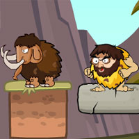 Play Rolly Stone Age Mammoth Rescue