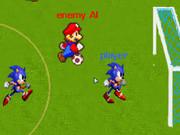 Play Mario Vs Sonic Soccer