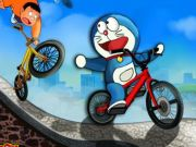 Play Doraemon Bicycle Racing