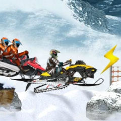 Snowmobile Cross Country
