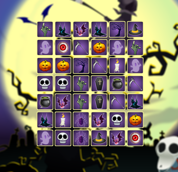 Play The Halloween Connect