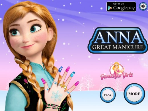 Play Anna Great Manicure
