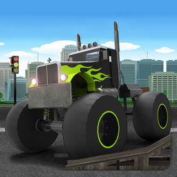 Play Monster Truck Ultimate Playground