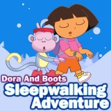 Play Dora And Boots Sleepwalking