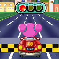 Play Little Bear Kart Racing