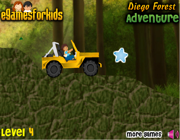 Play Diego Forest Adventure