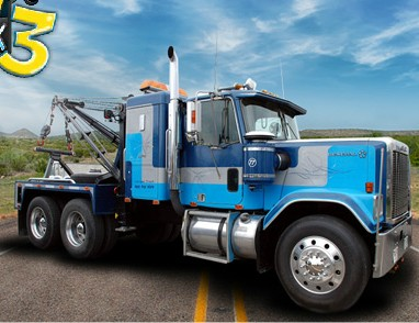 Play Heavy Tow Truck 3