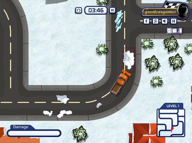 Play Snow Plow Parking