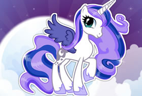 My Little Pony Princess Luna Dress Up