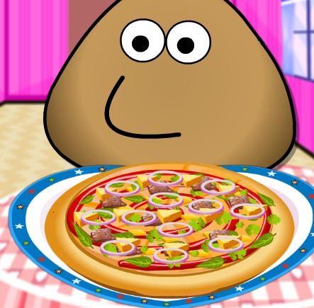 Play Pou Pizza Cooking