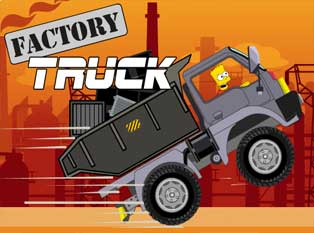 Play Bart Factory Truck