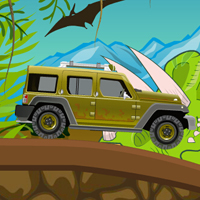 Play Jurassic Jeep Madness
