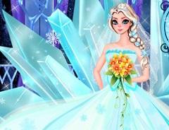 Play Elsa Perfect Wedding Dress